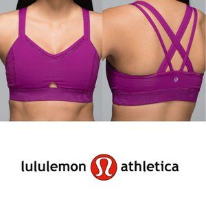 Lululemon Run For Days Bra Regal Plum 4